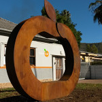 Sculpture for the Company ClemenGold. Stellenbosch, South Africa