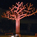 Sculptural tree for the University of the Free State, Bloemfontein, South Africa