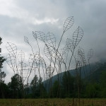 Catching the wind. Sculpture for Humus Park . Polsenego. Italia
