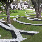 Land art Sculpture Installation for the Braak. Stellenbosch. south Africa