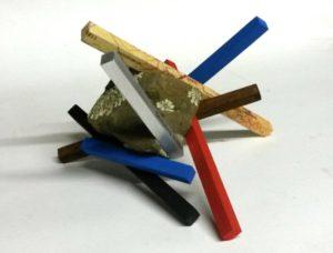 Ley lines, rock, wood, steel
