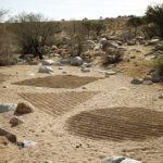 Shadow circle, triangle, square. Aus . Namibia