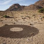 Shadow circle, Aus, Namibia