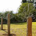 Sculpture installation on the farm Speekhoutfontein in the Eastern Cape, South Africa