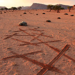 Drawing criss cross lines in the dessert